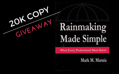 Giving Away 20,000 Copies of Rainmaking Made Simple